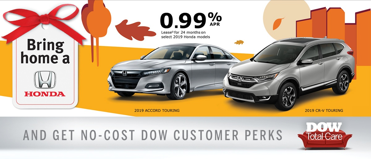 Great finance rates at Dow Honda