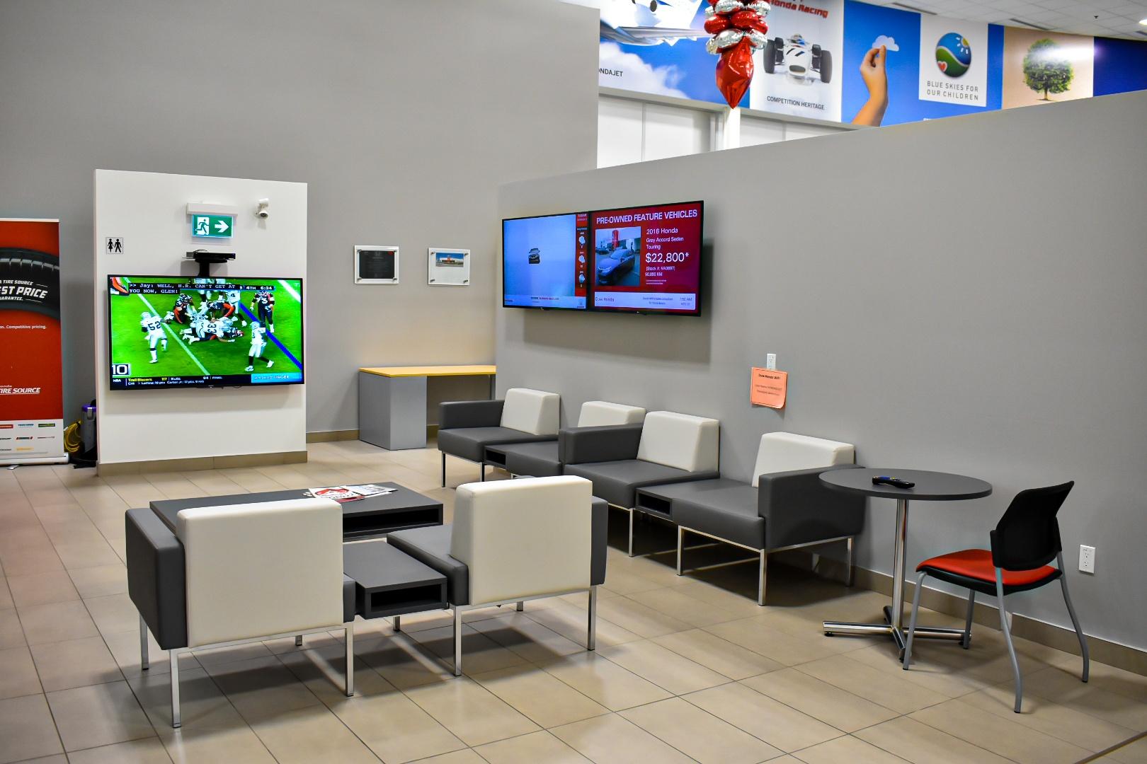 Dow Customer Lounge
