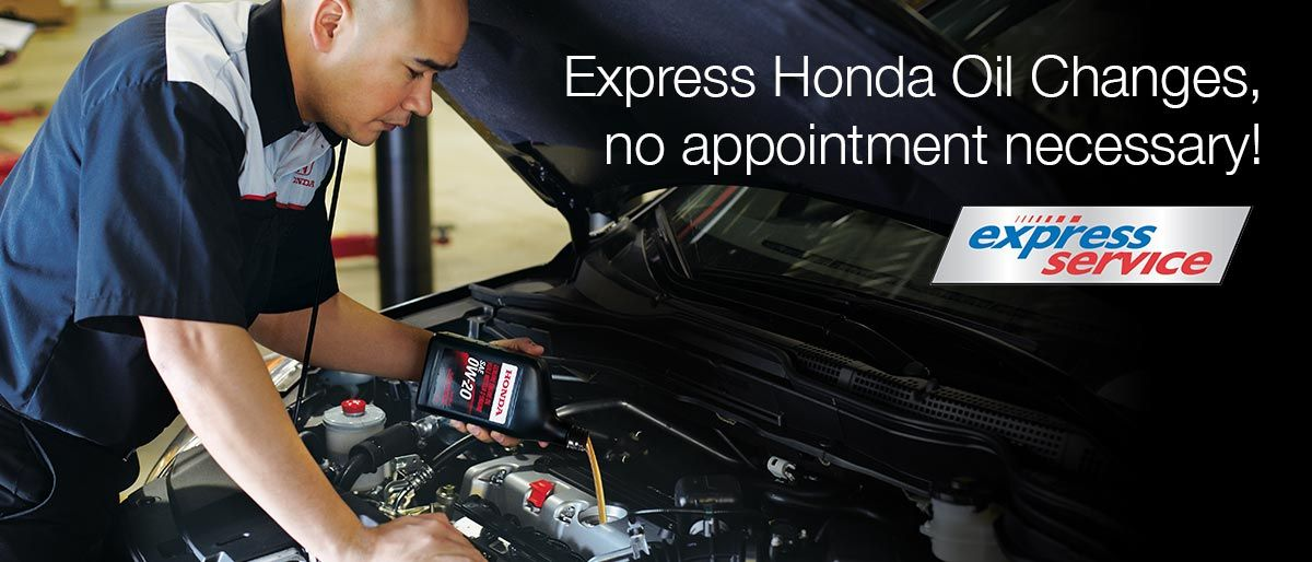 No Appointment Express Oil Changes