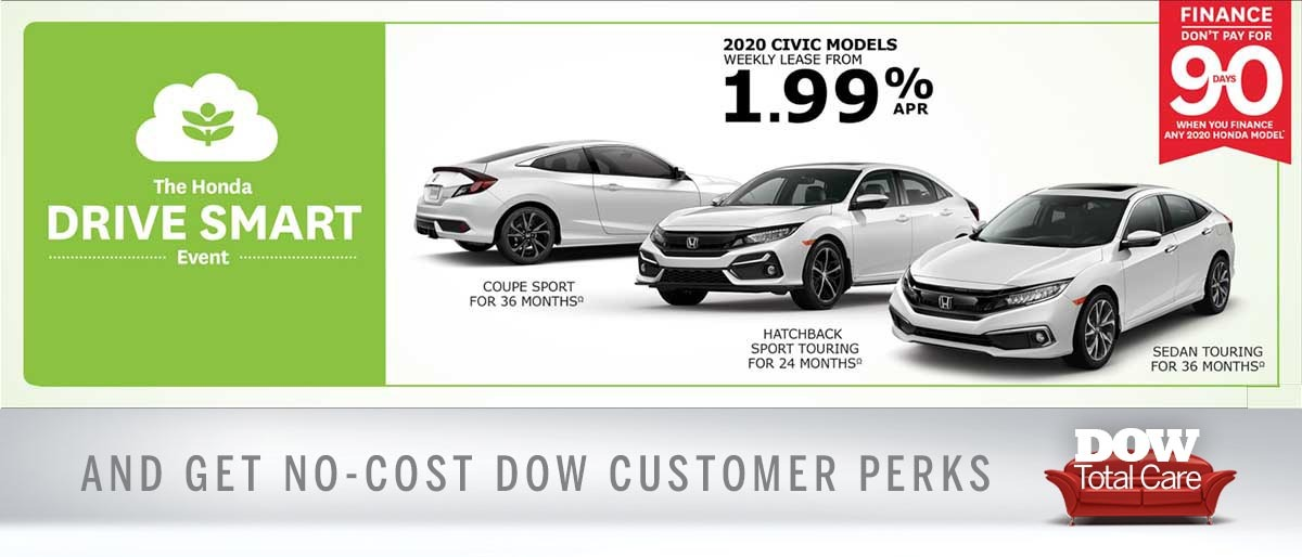 Do Not Pay on Civic at Dow Honda