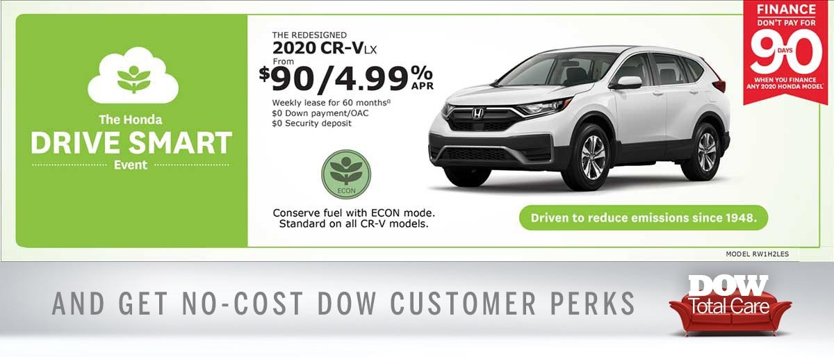 Save on 2020 CR-V at Dow Honda