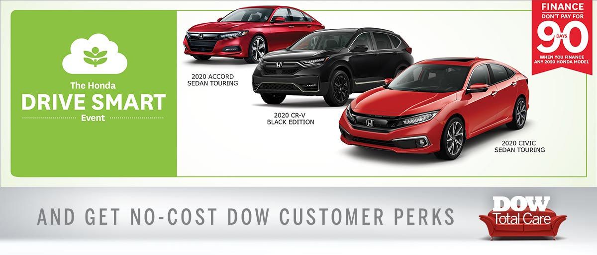 Do Not Pay For 90 Days At Dow Honda