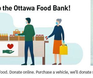 Ottawa Food Bank Drive