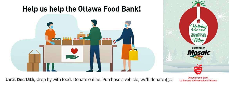 Ottawa Food Bank Drive