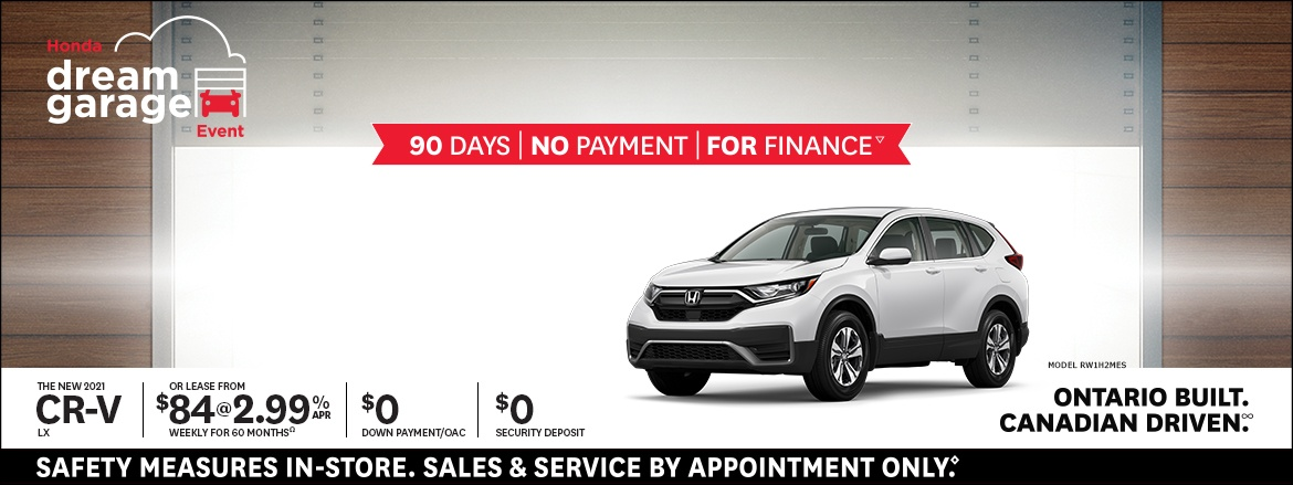 Save on CR-V LX at Dow Honda