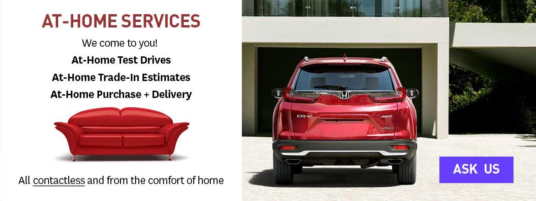 Dow Honda At-Home Services