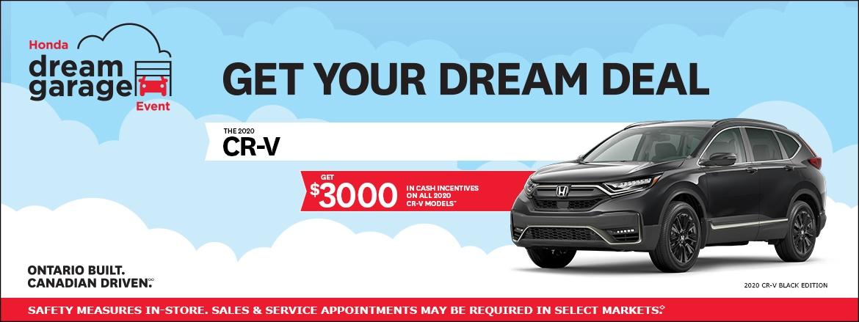2020 CR-V at Dow Honda