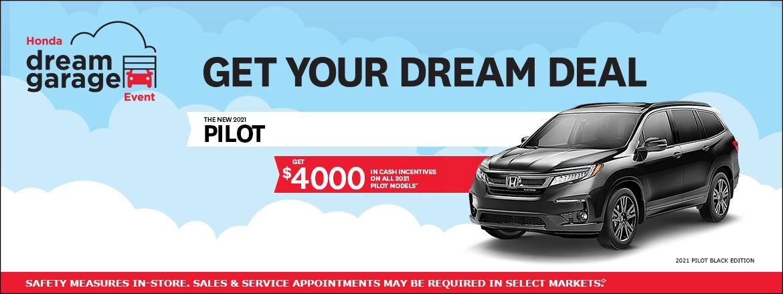2021 Honda Pilot at Dow Honda