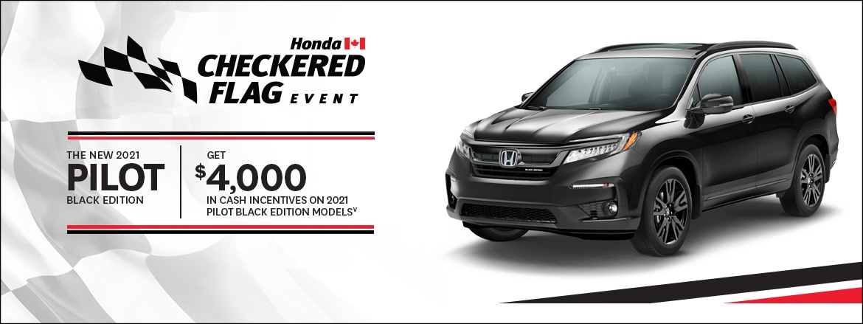 Save on Pilot Black Edition at Dow Honda