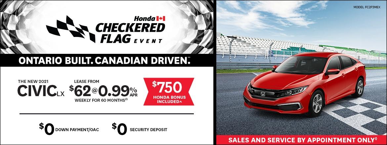 Save on 21 Civic at Dow Honda