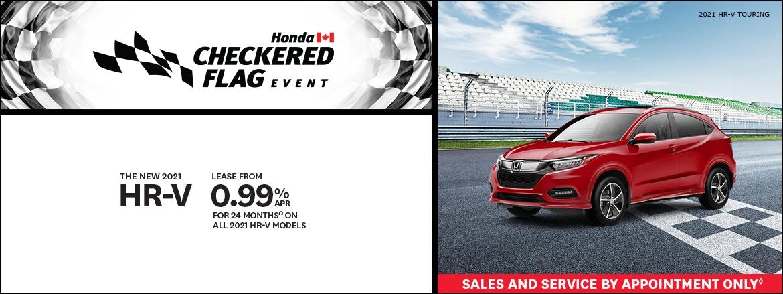 Save on 21 HR-V at Dow Honda