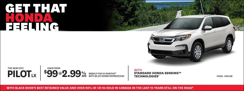 Get That Honda Feeling at Dow Honda