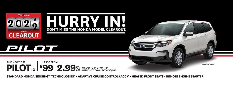 Save on Honda Pilot at Dow