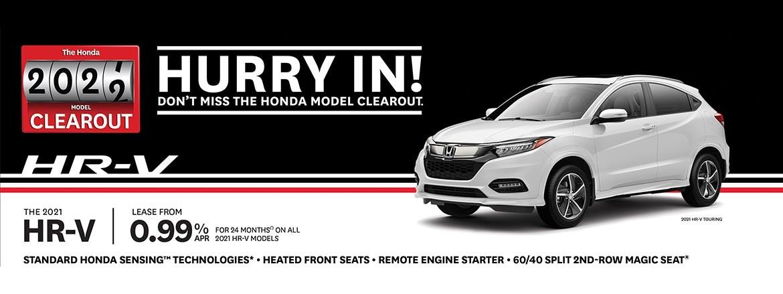 Save on Honda HR-V at Dow