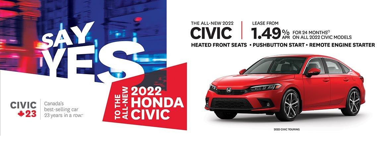 Save on Honda Civic at Dow