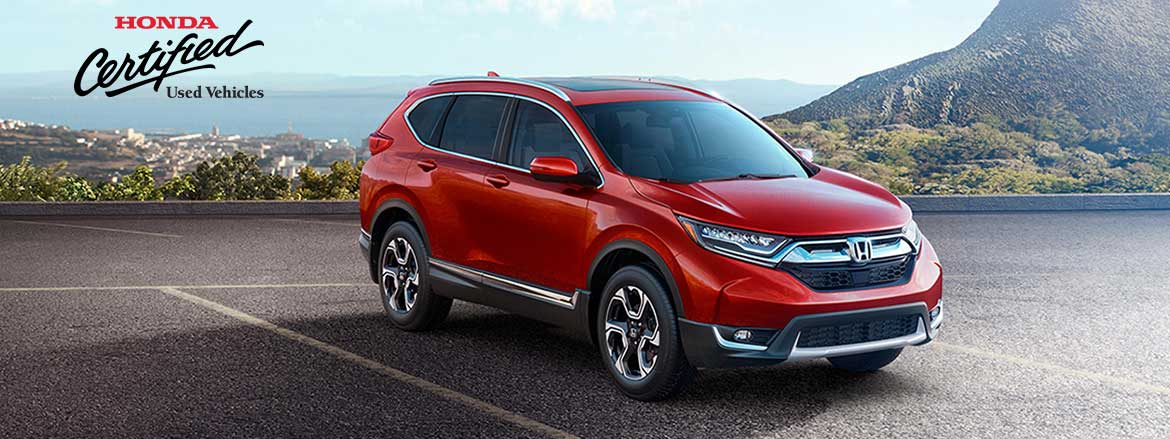 Save on a Dow Honda Certified Vehicle