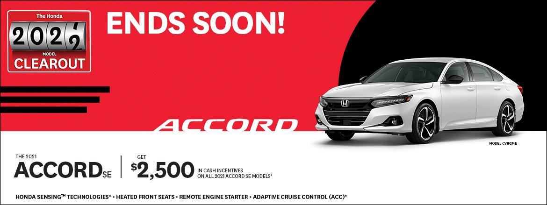 Save on Accord SE at Dow Honda